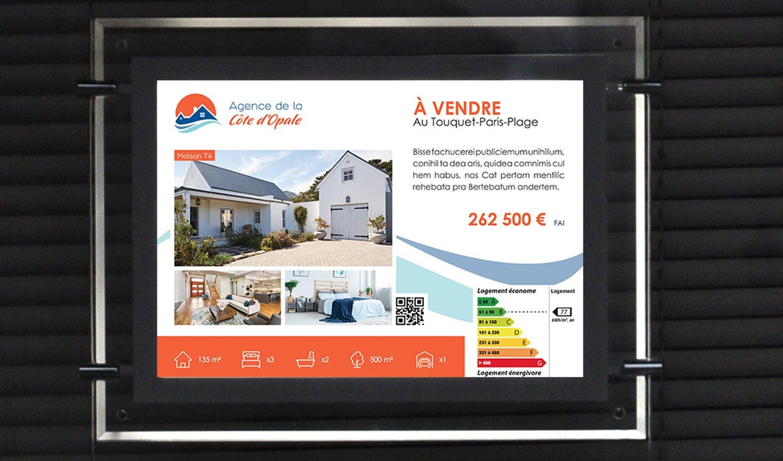 StudioDel Portfolio Agence Côte d'Opale Fiche vitrine