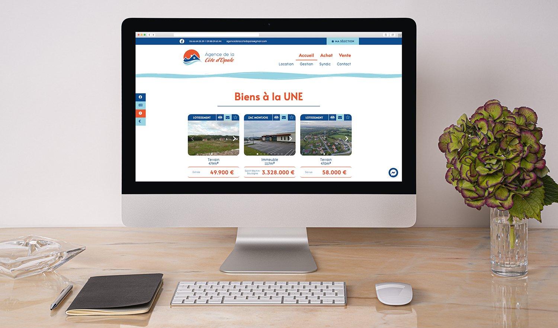 StudioDel Portfolio Agence Côte d'Opale Site web