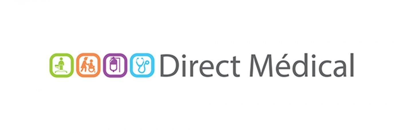 StudioDel Portfolio Direct Médical Logo Enseigne Flocage véhicule