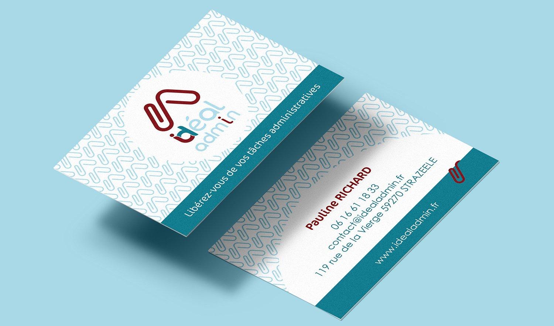 StudioDel Portfolio IdealAdmin Cartes de visite