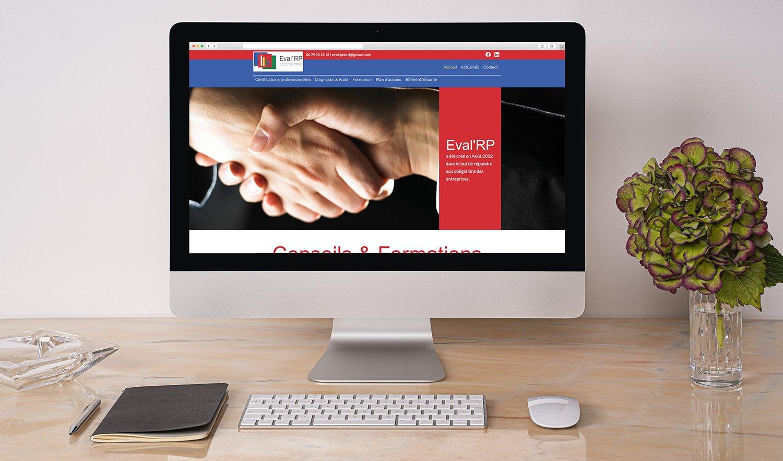 StudioDel Partenaire site internet Eval'RP