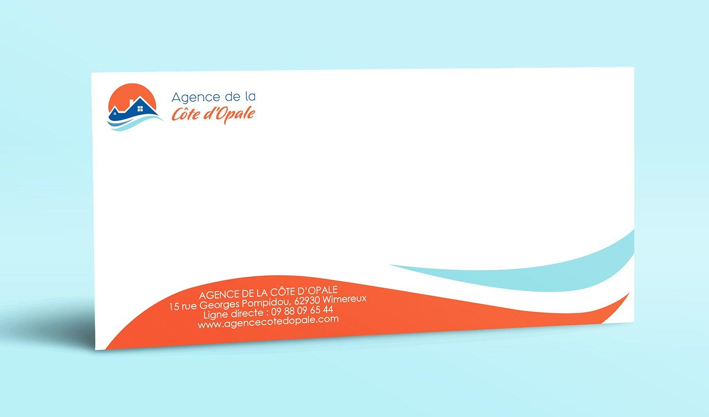 StudioDel Portfolio Agence Côte d'Opale Carton correspondance