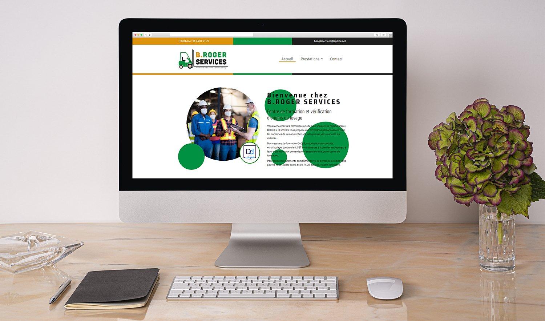StudioDel Portfolio B.Roger Services Site web