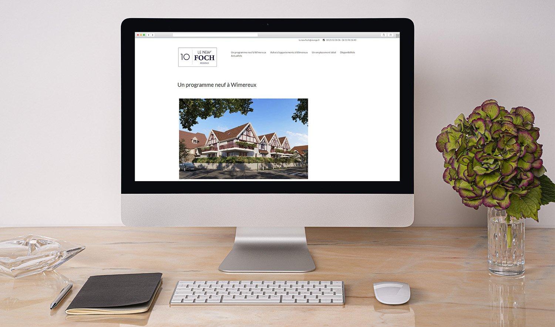 StudioDel Portfolio Le New Foch Site internet