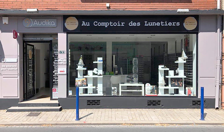 StudioDel Portfolio Au Comptoir des Lunetiers Enseigne