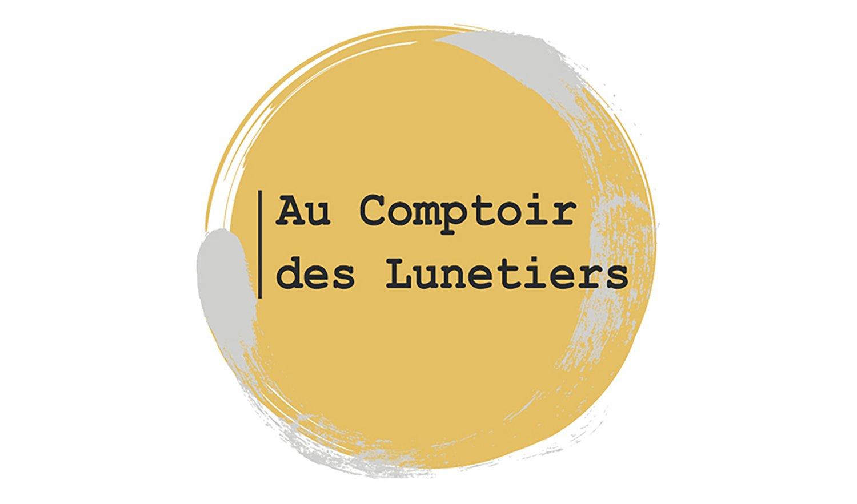 StudioDel Portfolio Au Comptoir des Lunetiers Logo