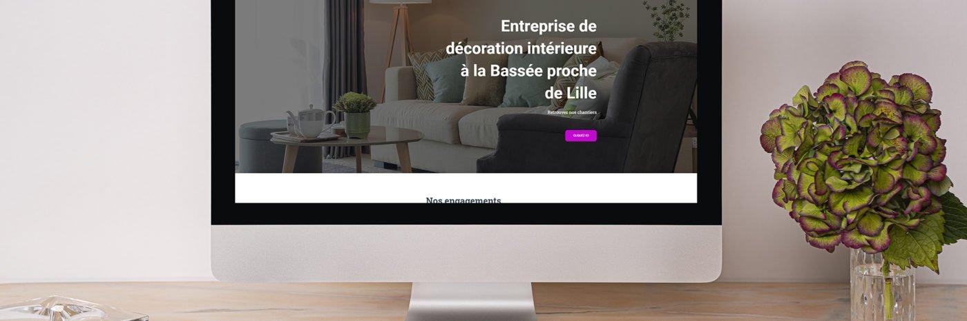 StudioDel Portfolio Concept Peintures Site web Accueil