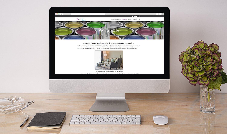 StudioDel Portfolio Concept Peintures Site web Peintures
