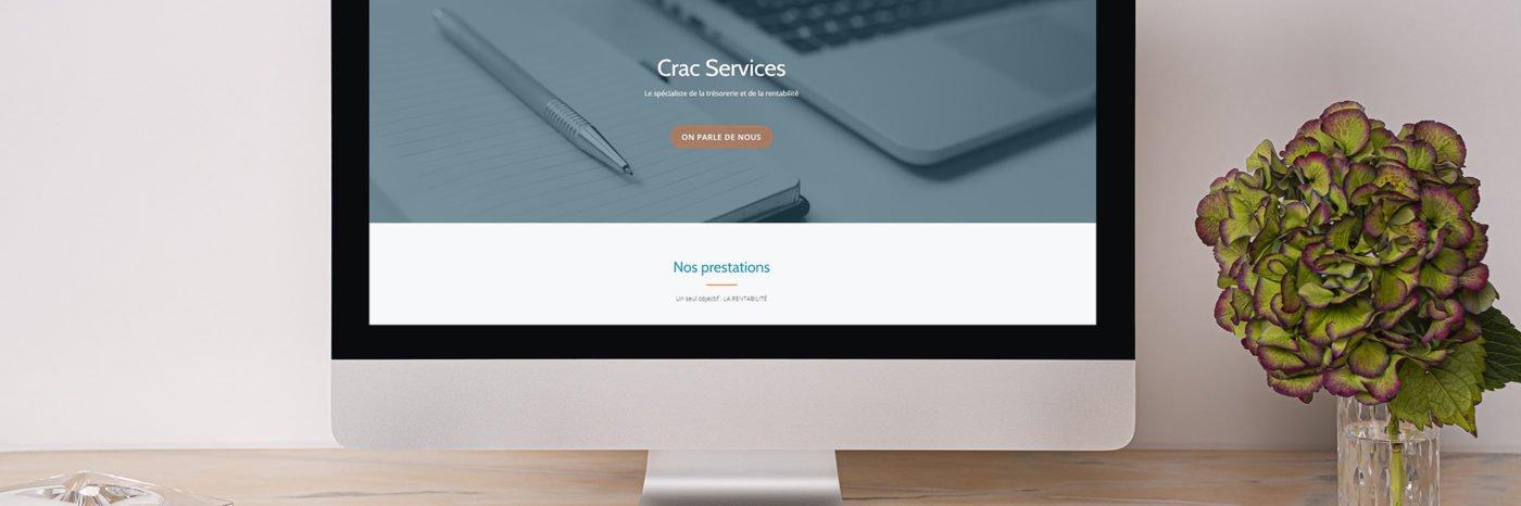 StudioDel Portfolio CRAC Services Site web Accueil