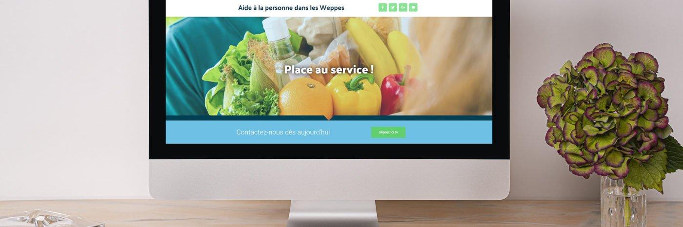 StudioDel Portfolio EASY-DOM Site web Accueil