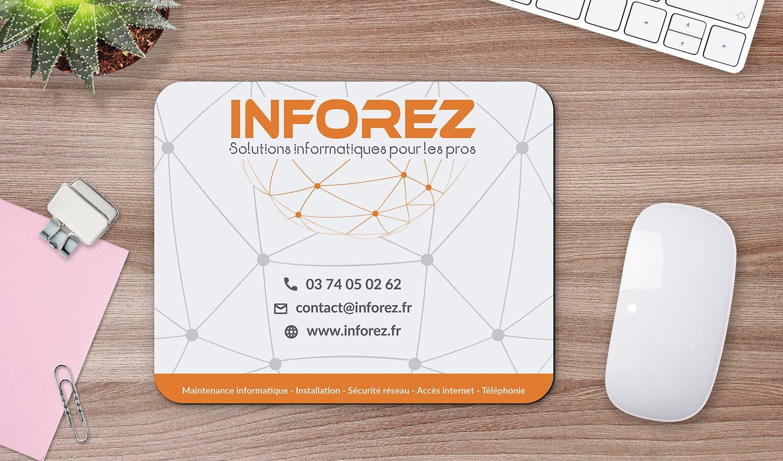 StudioDel Portfolio Inforez Tapis de souris