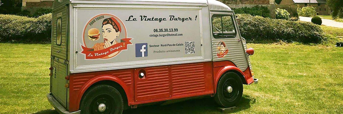 StudioDel Portfolio Le Vintage Burger Flocage véhicule