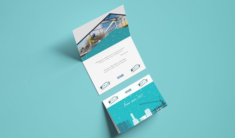 StudioDel Portfolio Boulet Bâtiment Cartes de vœux