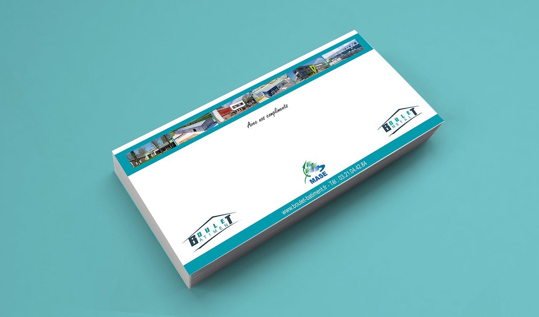StudioDel Portfolio Boulet Bâtiment Cartons de correspondance