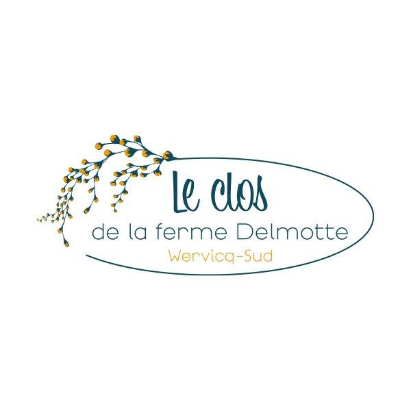 StudioDel Portfolio Clos de la ferme Delmotte Logo