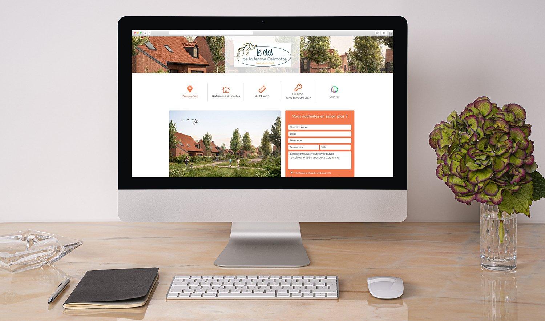 StudioDel Portfolio Clos de la ferme Delmotte Page programme