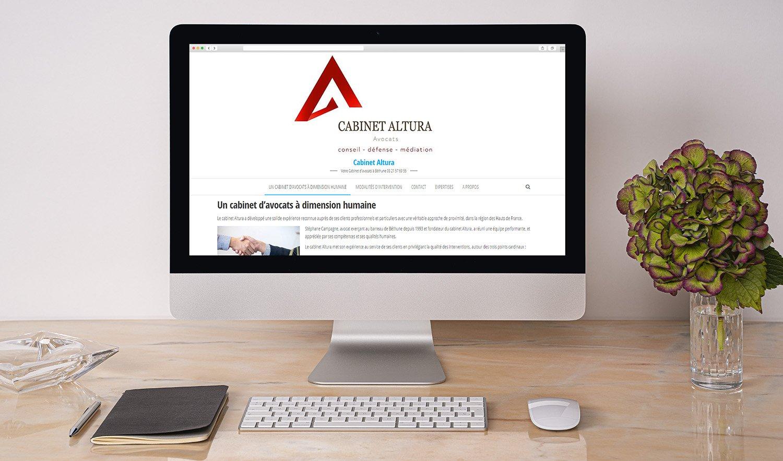 StudioDel Portfolio Cabinet Altura Site internet