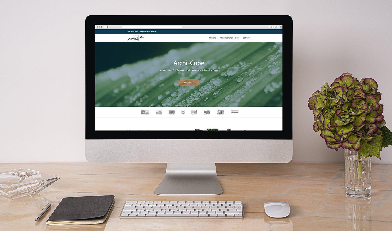 StudioDel Portfolio Archi-Cube Site internet Accueils